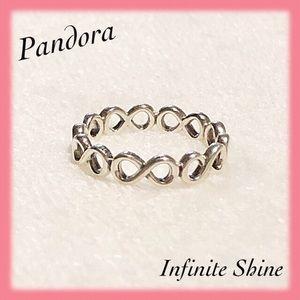 🔅Pandora🔅Infinite Shine Sterling Silver Ring